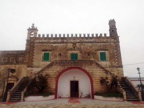 La sede del XXIII Premio BIOL 2018 a Ostuni, Puglia